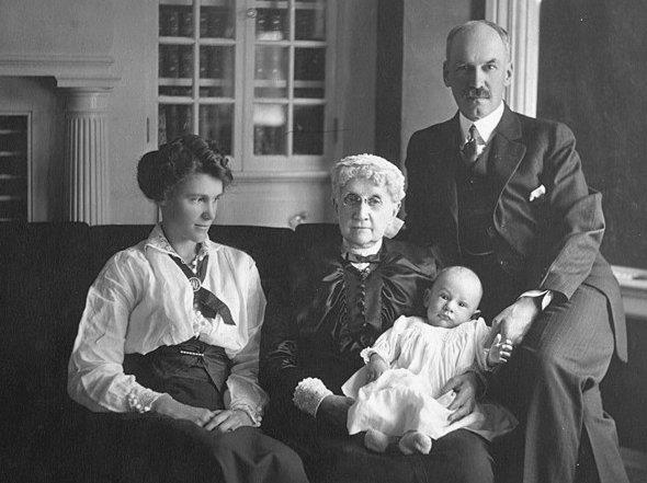 Granny Sally Harris Squibb Family Portrait