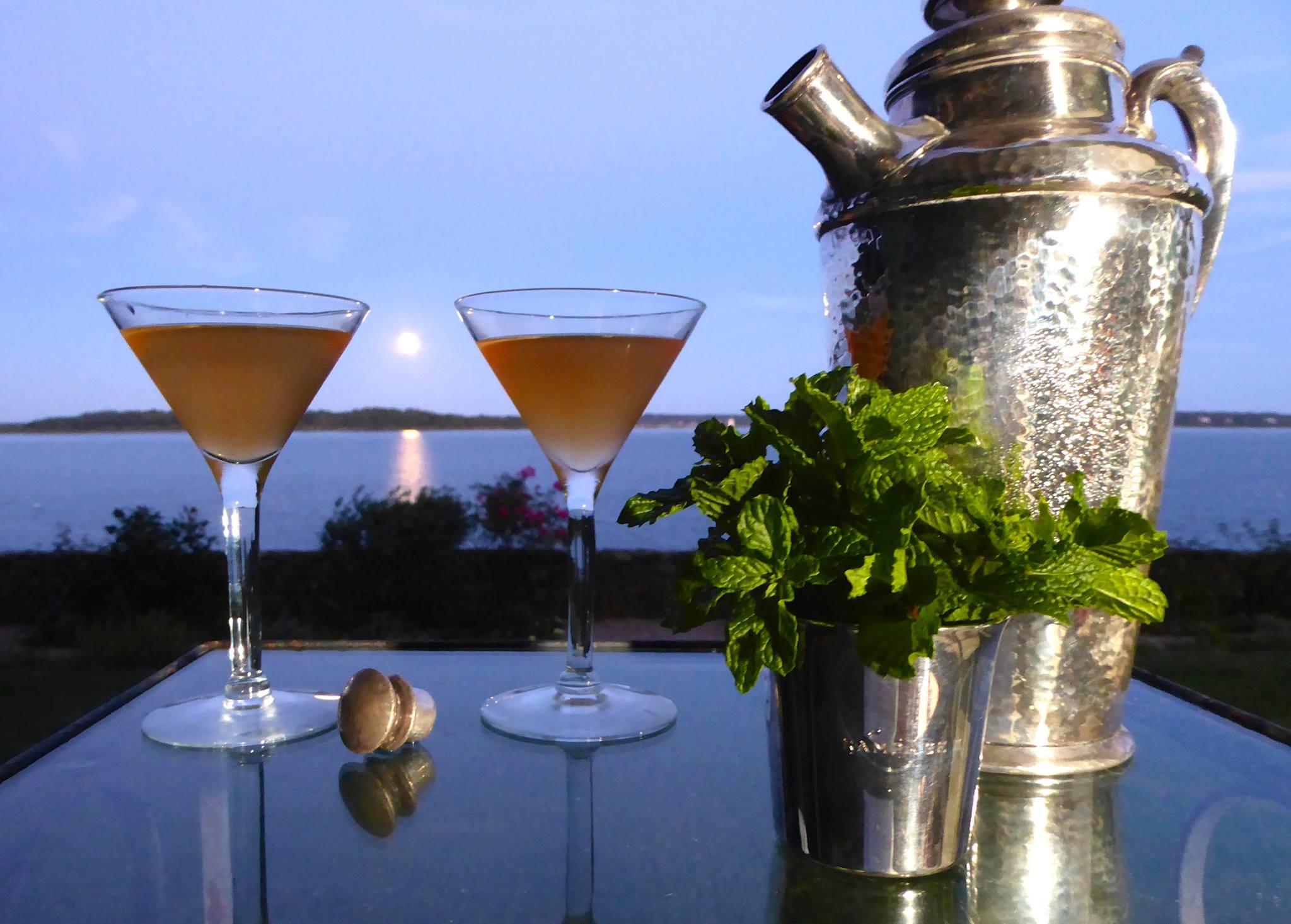 Cocktails on Narragansett Bay
