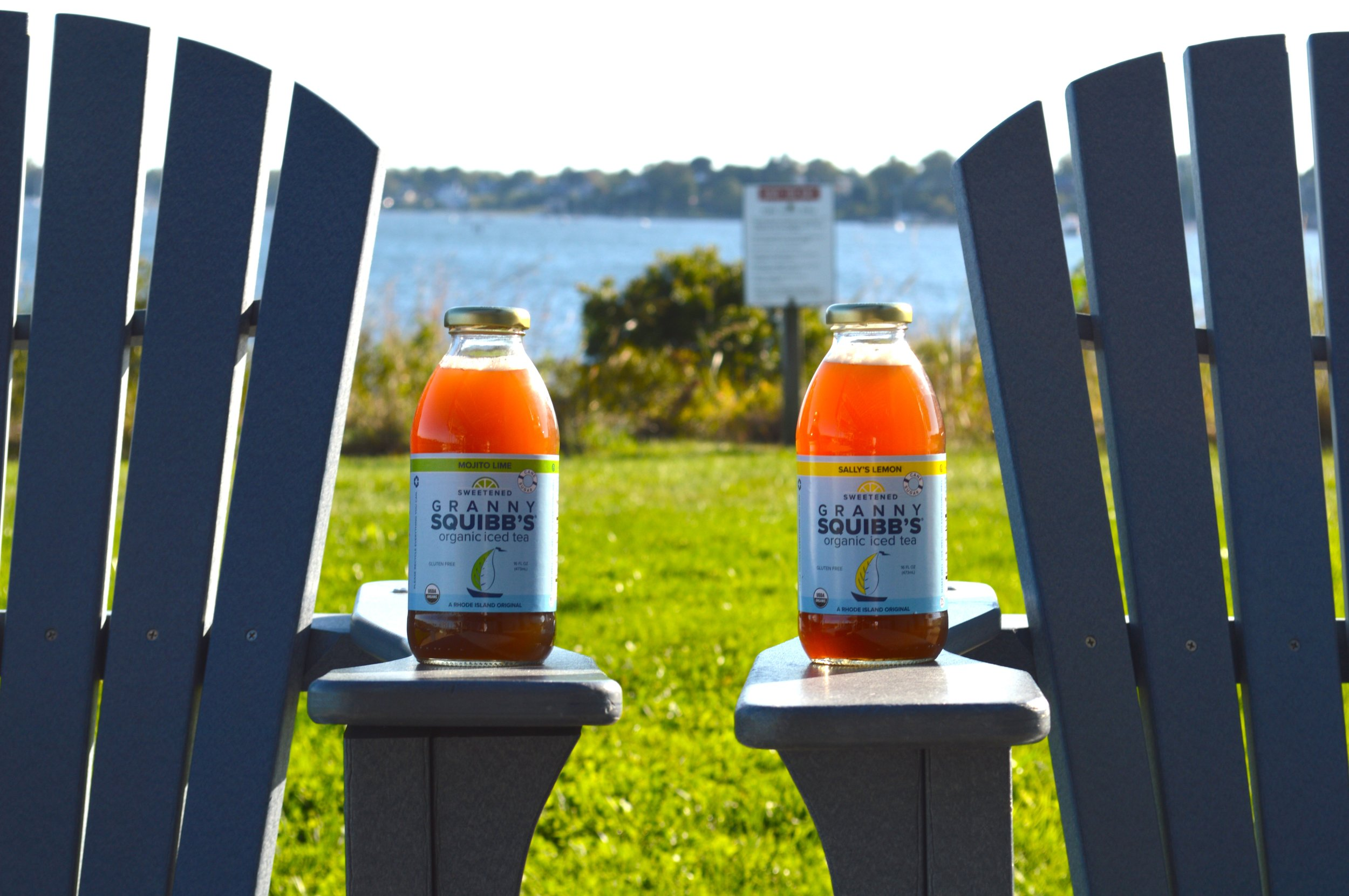 Granny Squibb's Organic Iced Tea at Save The Bay