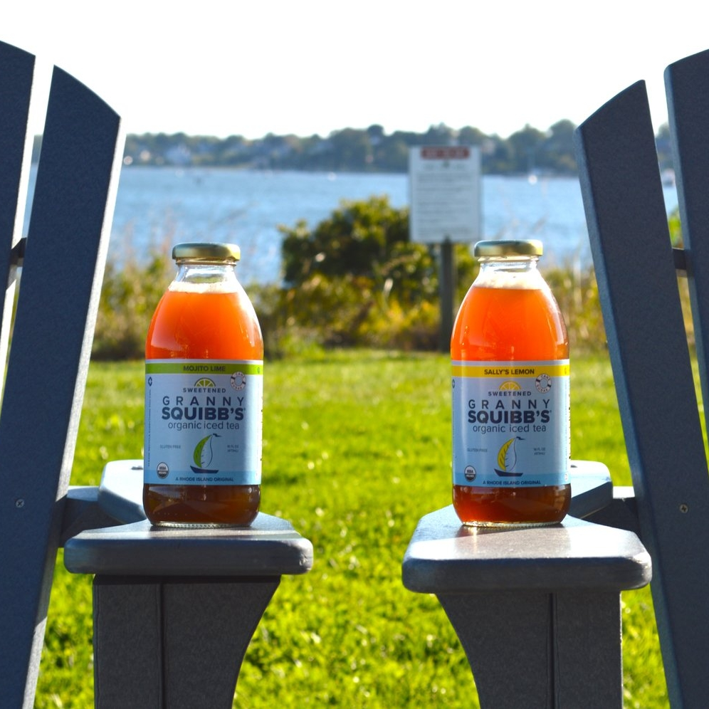 Granny Squibb's Organic Iced Tea at Save The Bay featured in Providence Business News
