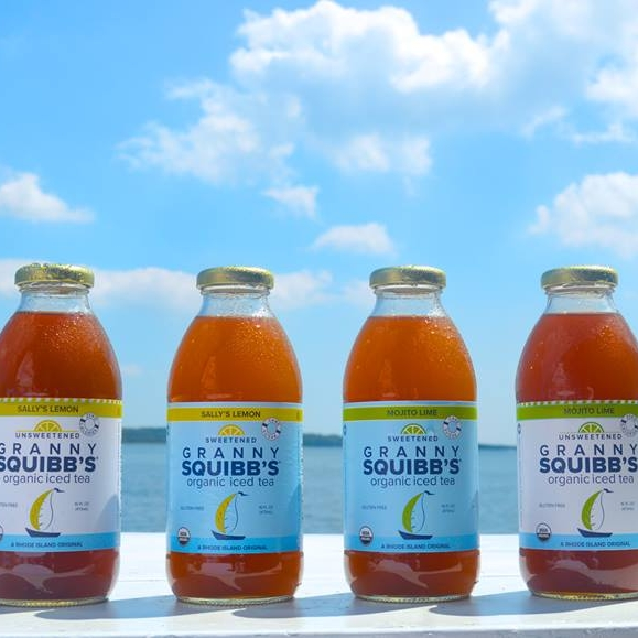 Granny Squibb's Organic Iced Tea discussed in Rhode Island Monthly