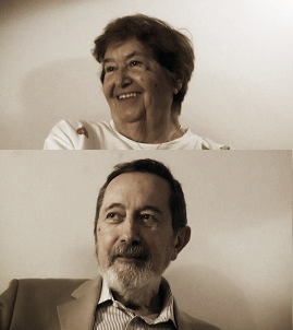 Salma Yanni Sarkis and Costi Papadopoulos. © Vouvoula Skoura