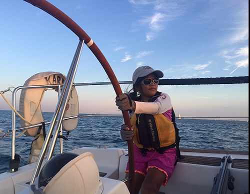 Best Photos of Kids Sailing — Congratulations to Lou Sandoval, winner of a North Duffel Bag!