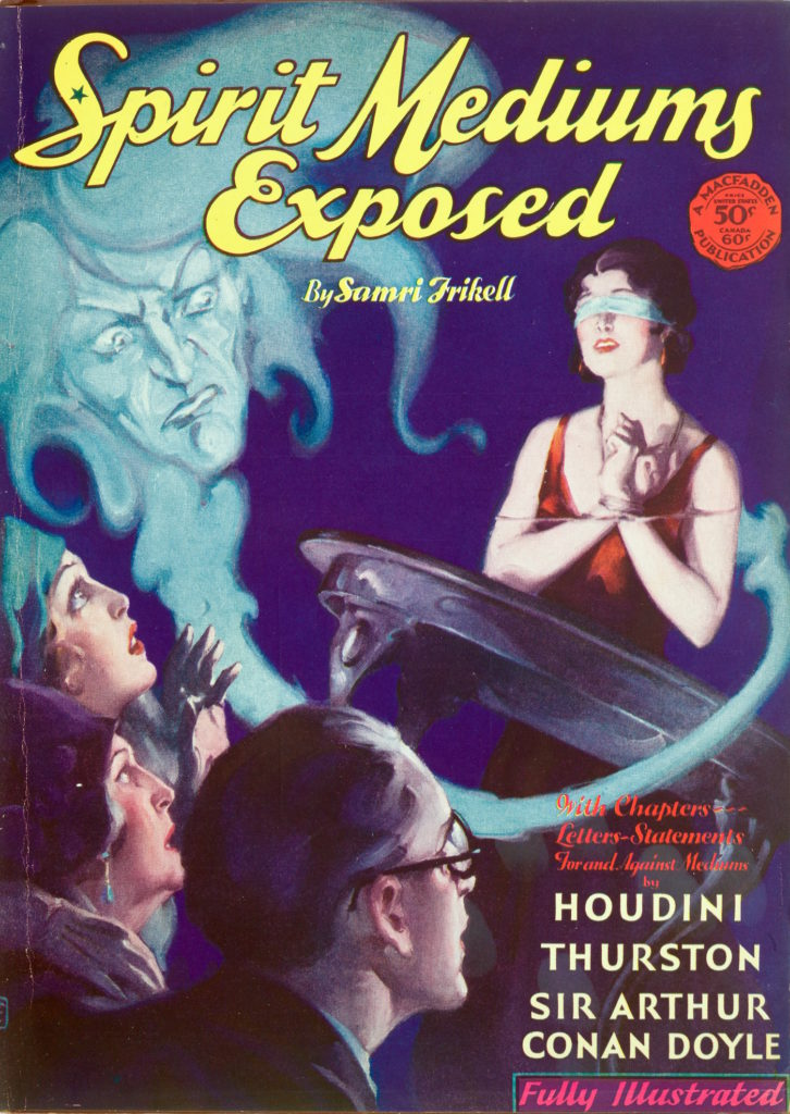 """""""Spirit Mediums Exposed"""" by Samri Frikell (one of the pen names of Fulton Oursler), published in 1930 by Macfadden Publications Inc."""
