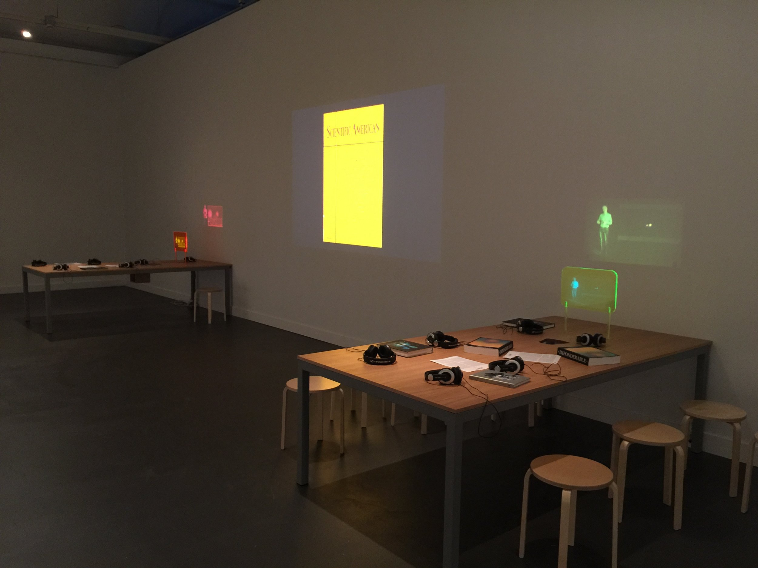 The Imponderable Archive - Installation View