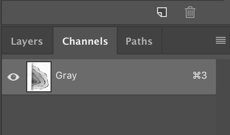 channel gray