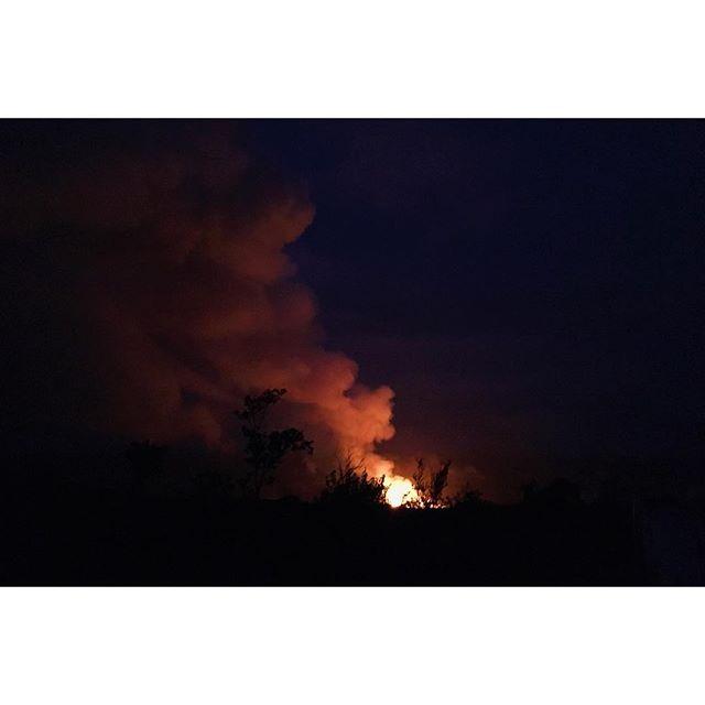 The eruption of Kilauea 🌋 #islandtime