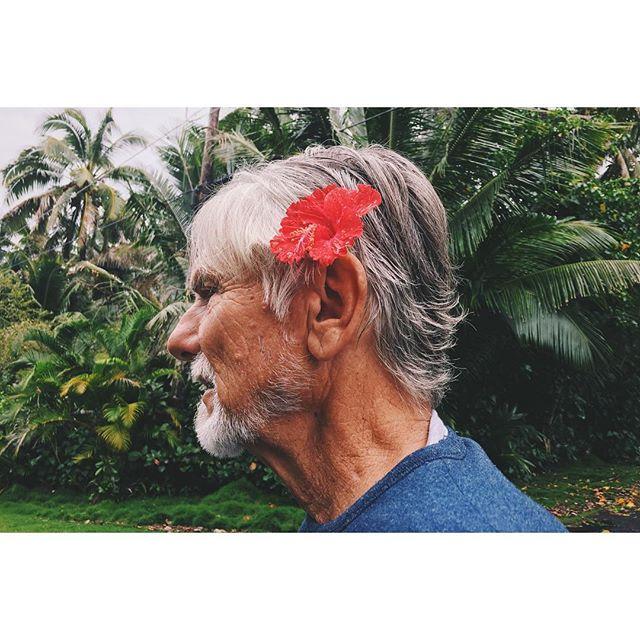 Dad in Hawaii #ohana