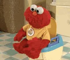 Make Elmo happy, have enough bathrooms.