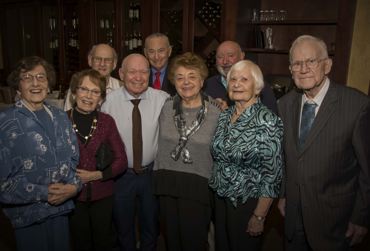 Holocaust survivors at the 2016 Week of Understanding dinner.