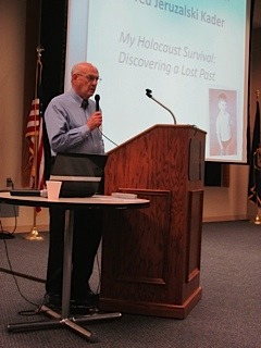 Dr. Fred Kader shares his testimony at UNK