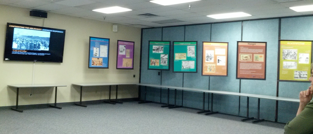 Holocaust exhibit at Offutt Air Force Base