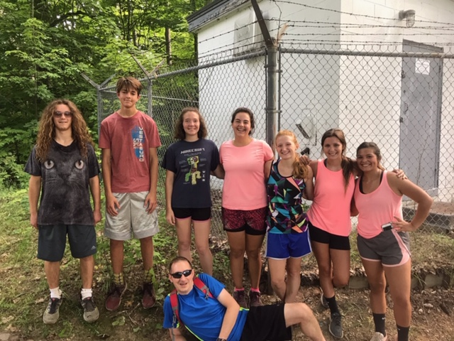 XC Camp 2019 -  Top of the Mountain Runners (10-17 miles)