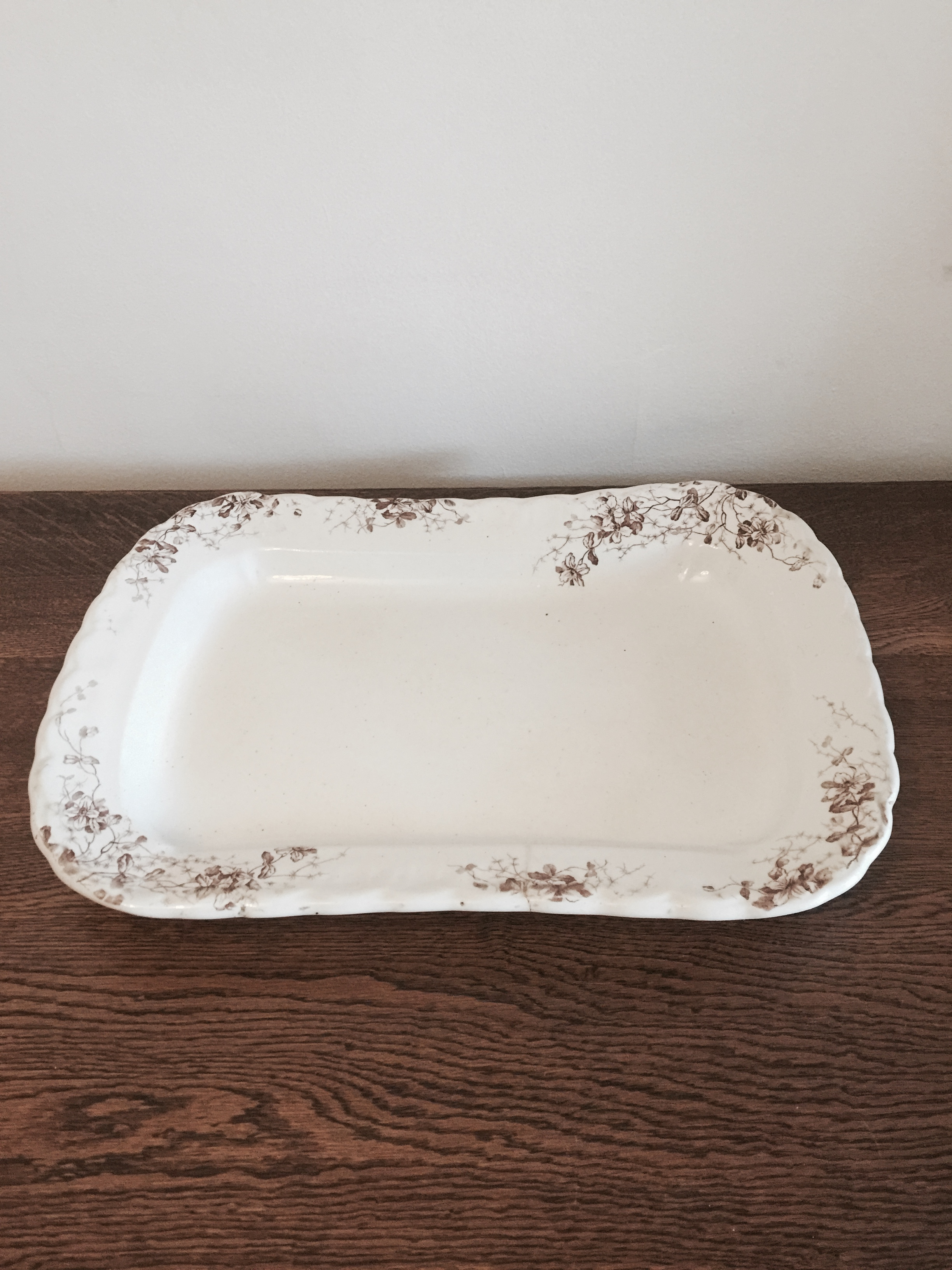 Serving platter £2 each to hire