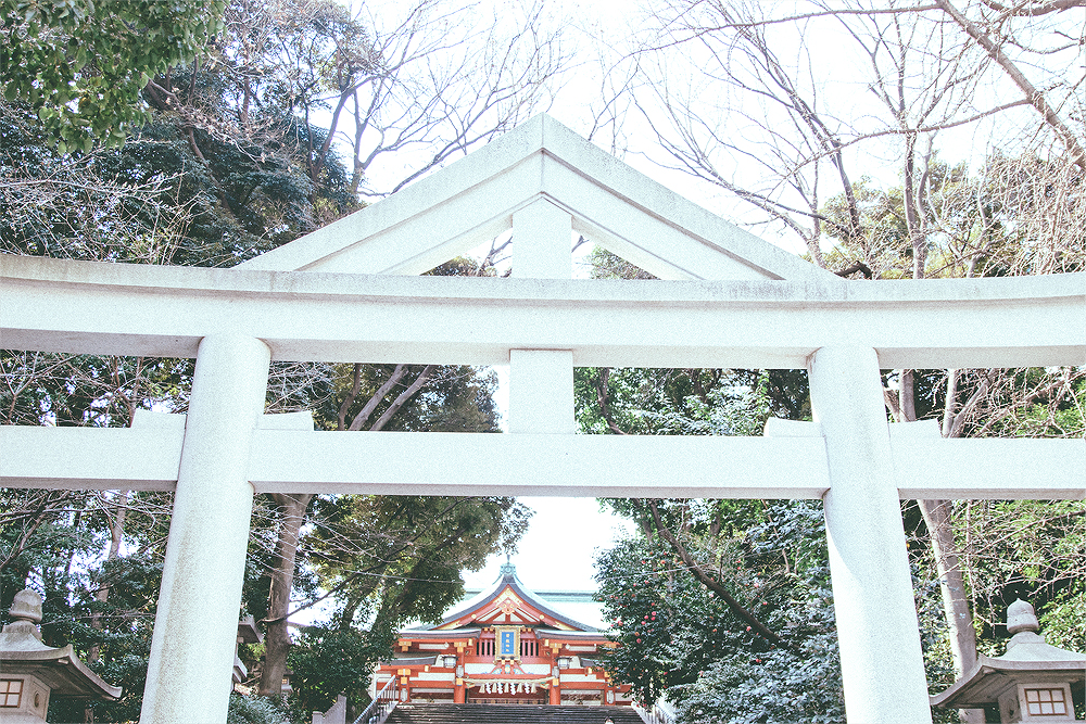 The walk from the station to the Hie Shrine was pleasant and peaceful. In fact, we hardly exchanged words because it was such a calming experience.