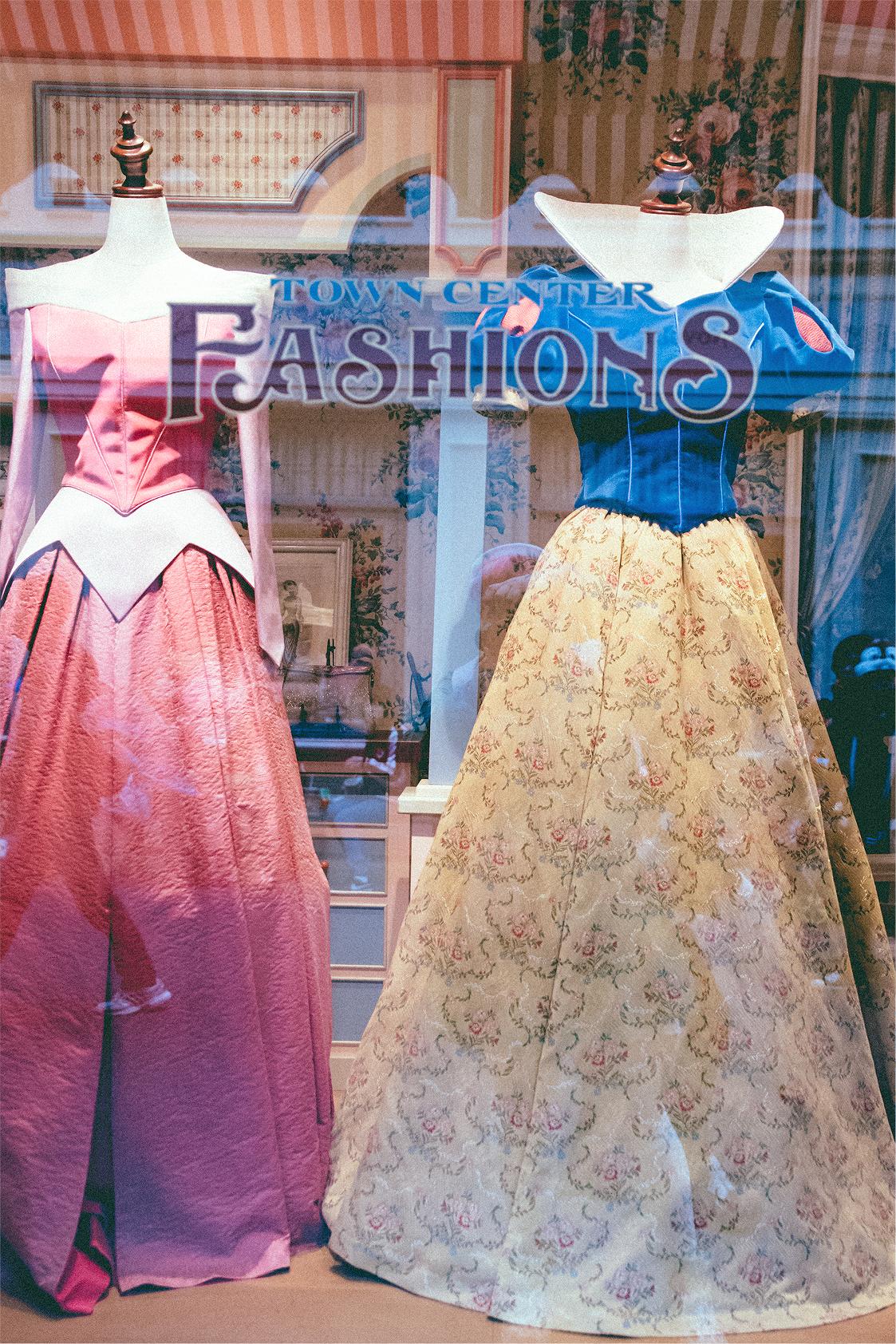 Fashions for Aurora & Snow White