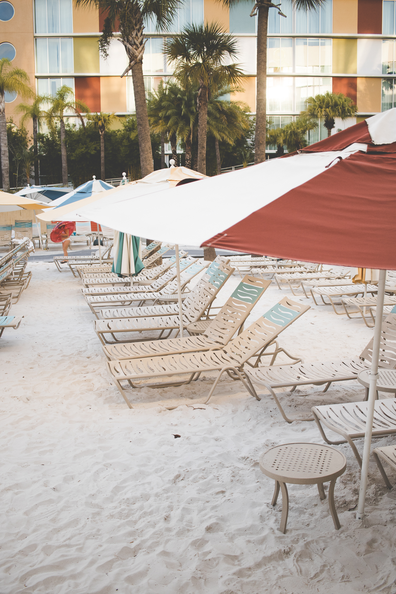 There's something for everyone who wants to enjoy fun in the sun. A major highlight is that you can rent a private cabana (their namesake) at one of their TWO large pools, there's a lazy river with novelty floaties, cozy outdoor fire pits (get those s'more kits I mentioned), and poolside bars.