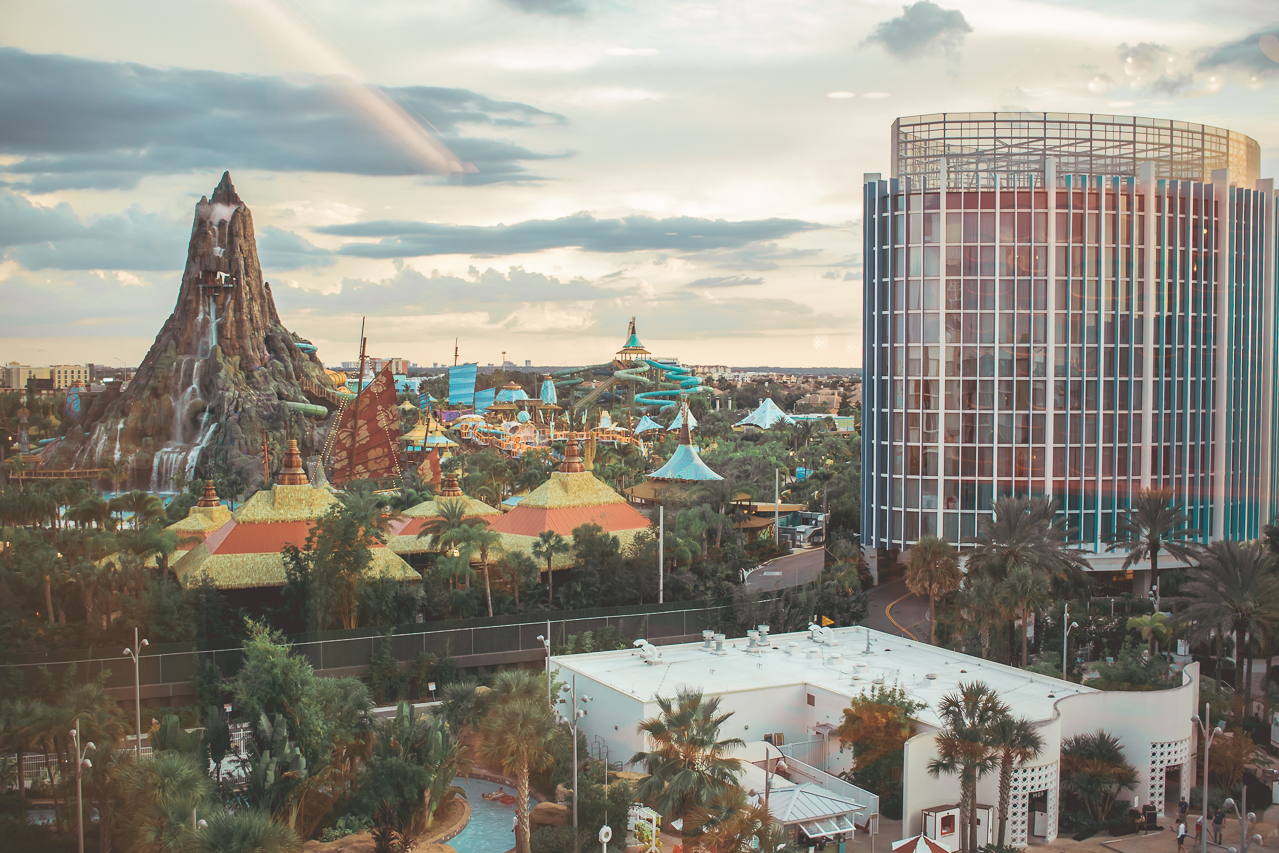 Cabana Bay is also within walking distance to Universal's new waterpark  Volcano Bay!