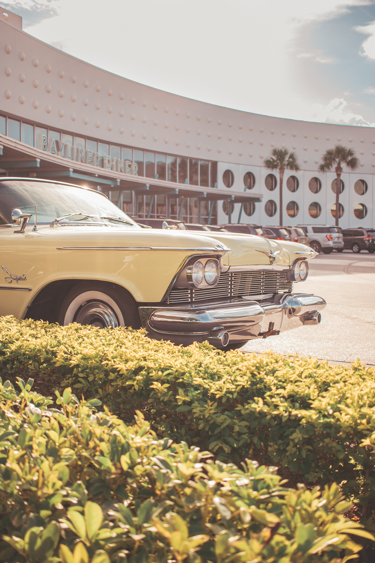 Being on property at Cabana Bay takes you back to such an aesthetically pleasing era - especially for cars!
