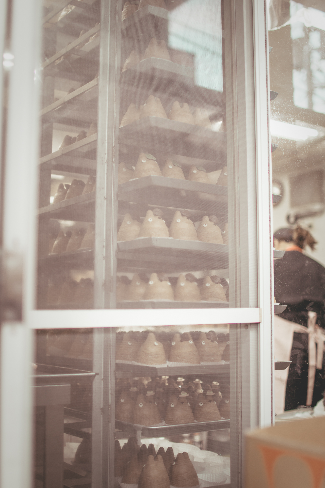 A glimpse inside the bakery.