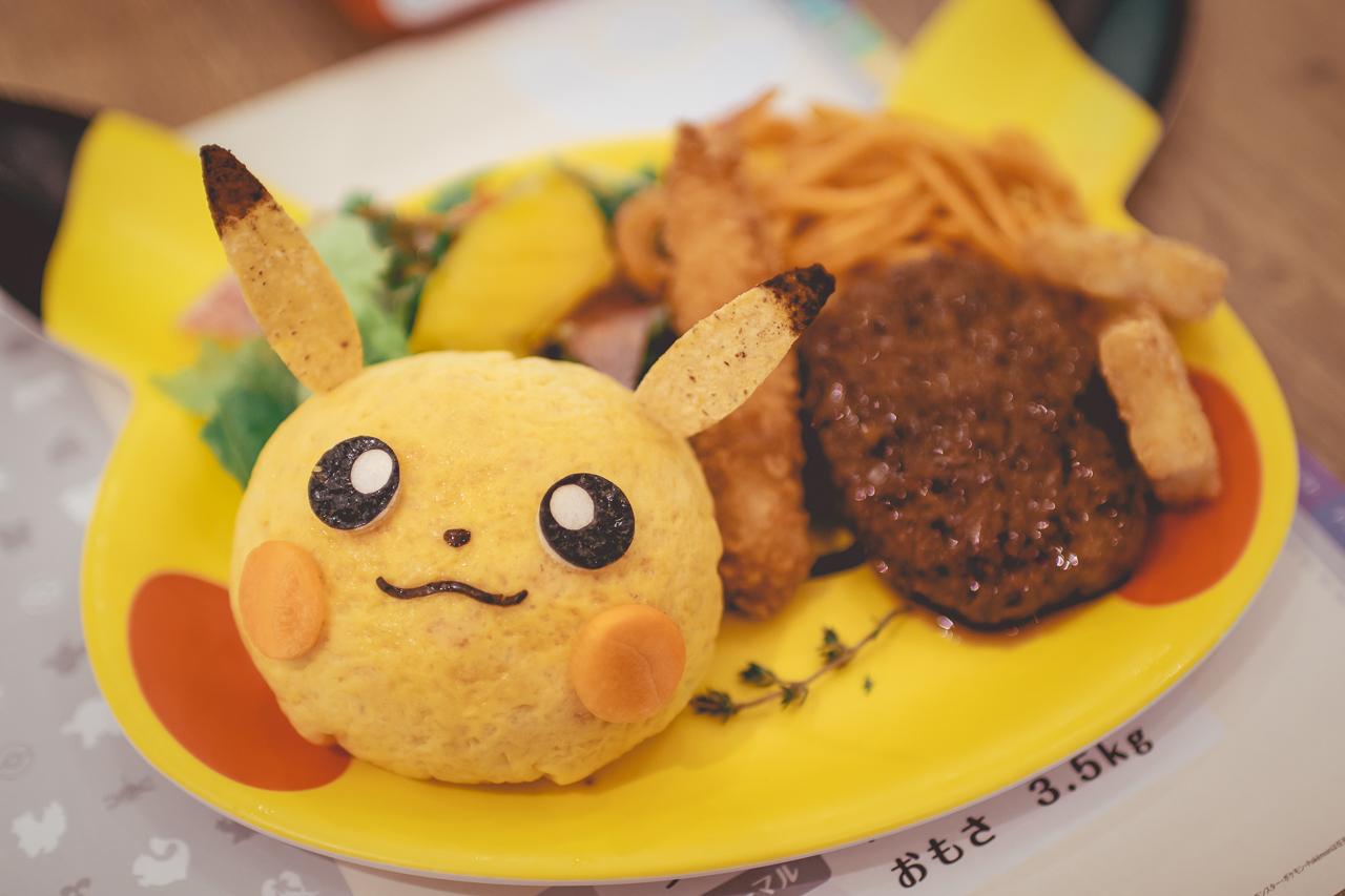Pikachu well spread plate