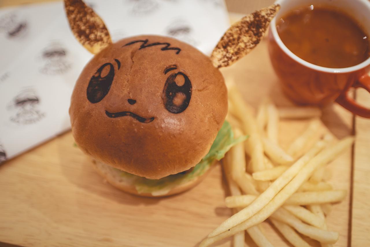 Eevee Teriyaki Chicken Burger