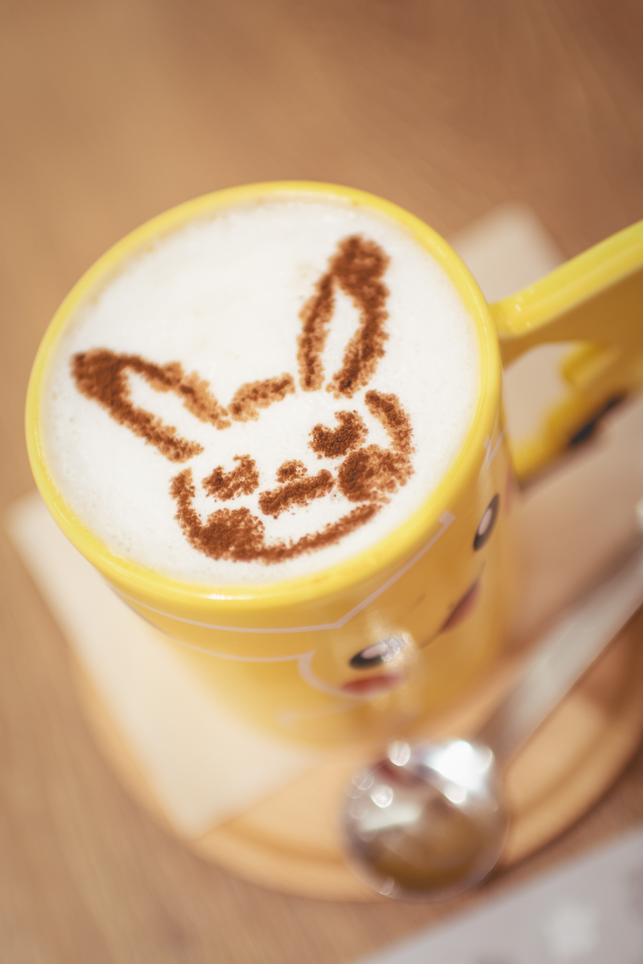 Pikachu latte