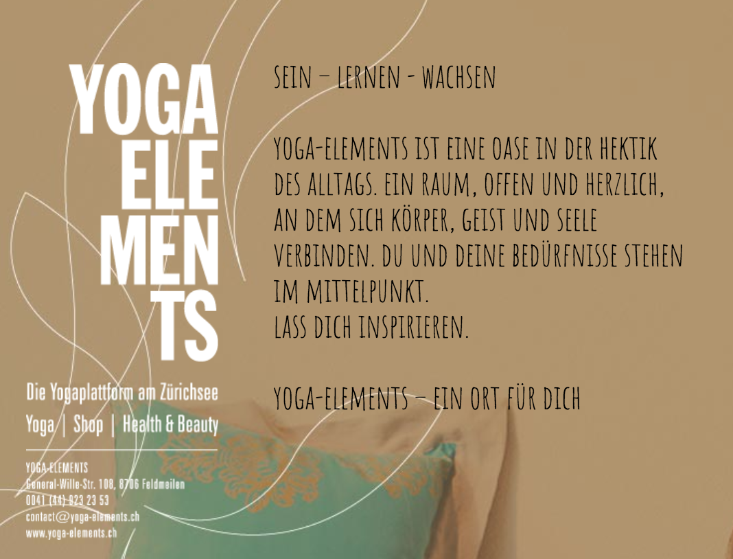 Guido Mazzolani Yoga Teacher:  http://www.yoga-scheune.ch http://www.yoga-elements.ch