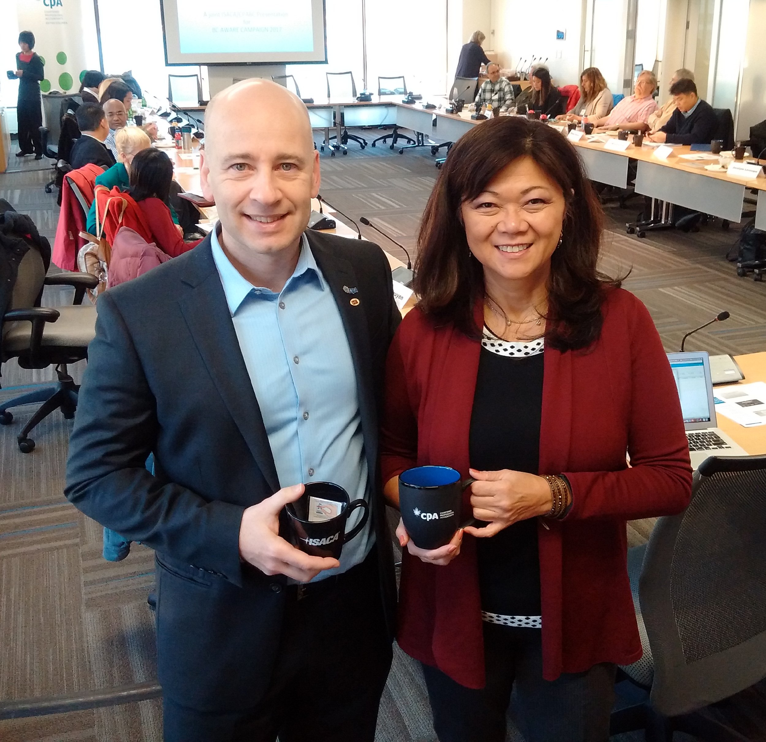 CPA BC Event Speakers: Medy Dytuco and Edward Pereira