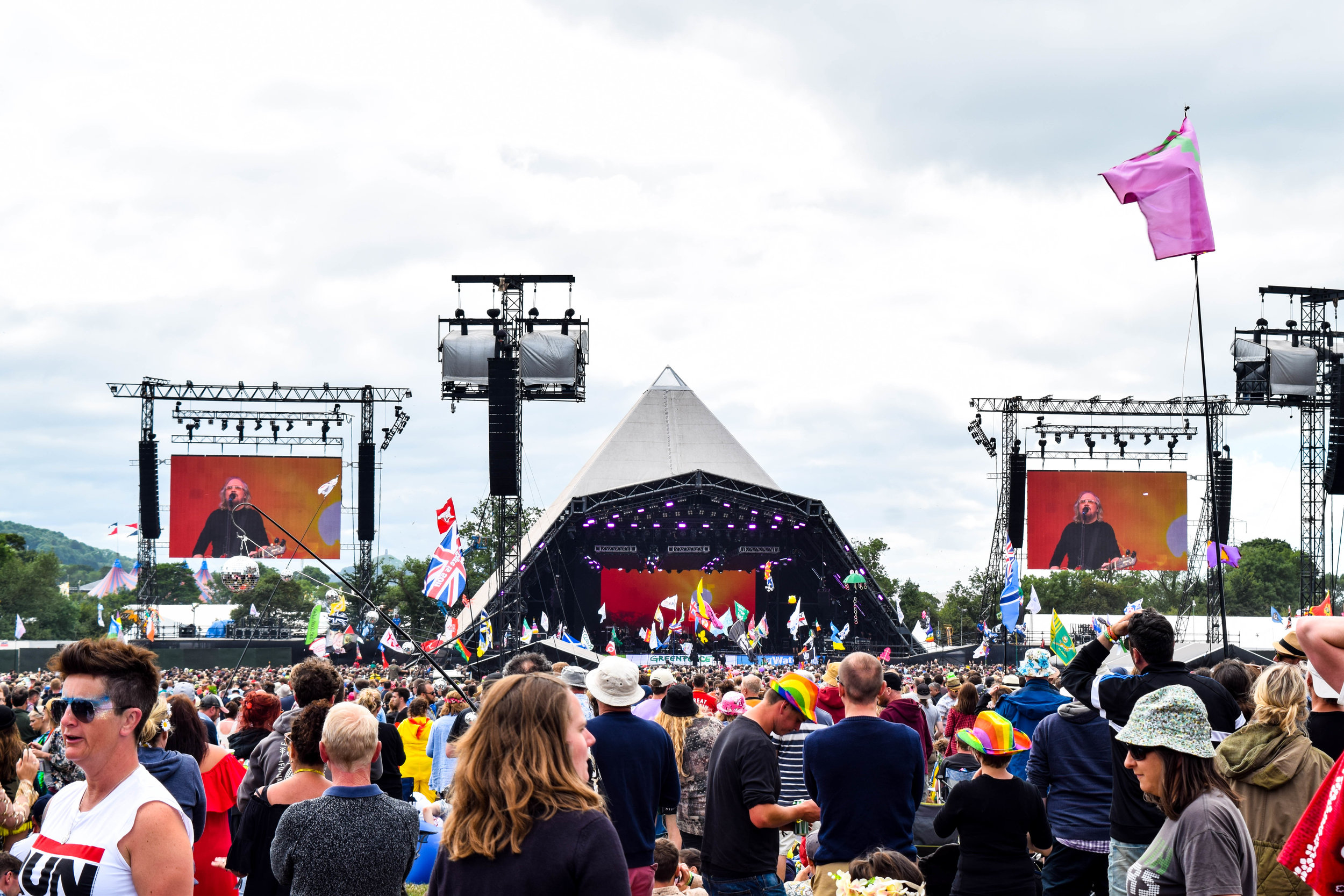 3. The Pyramid Stage -