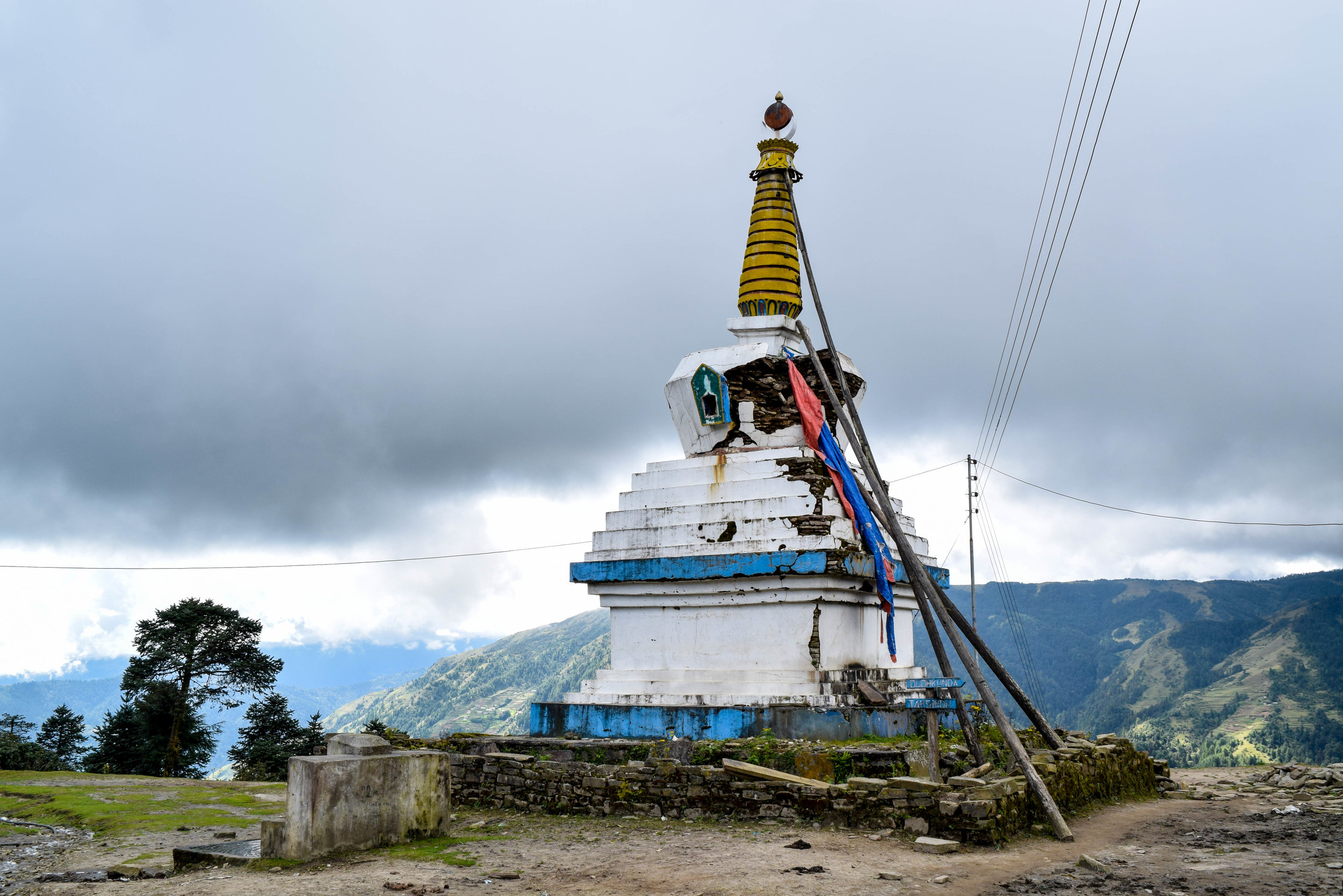 One of the first stupas we encountered on the trek. We saw a lot of them.