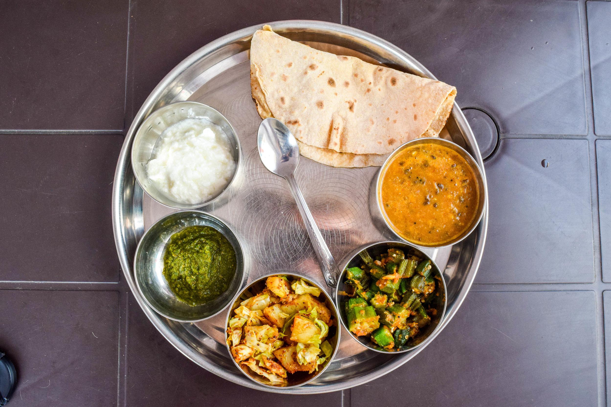 GET IN MY BELLY. (Neelam Restaurant's Rajasthani thali)