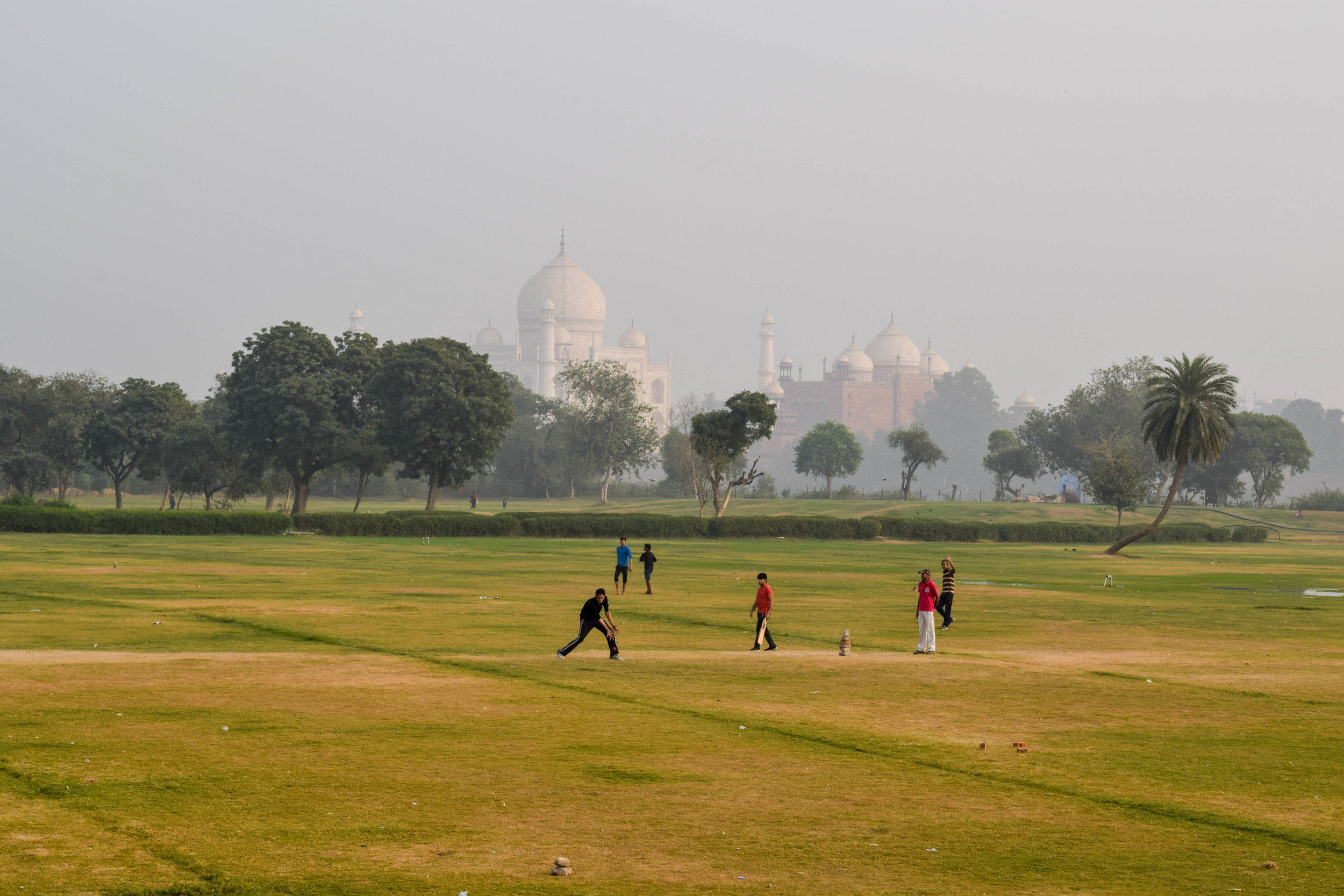 Unless you play cricket, in which case...Taj view!