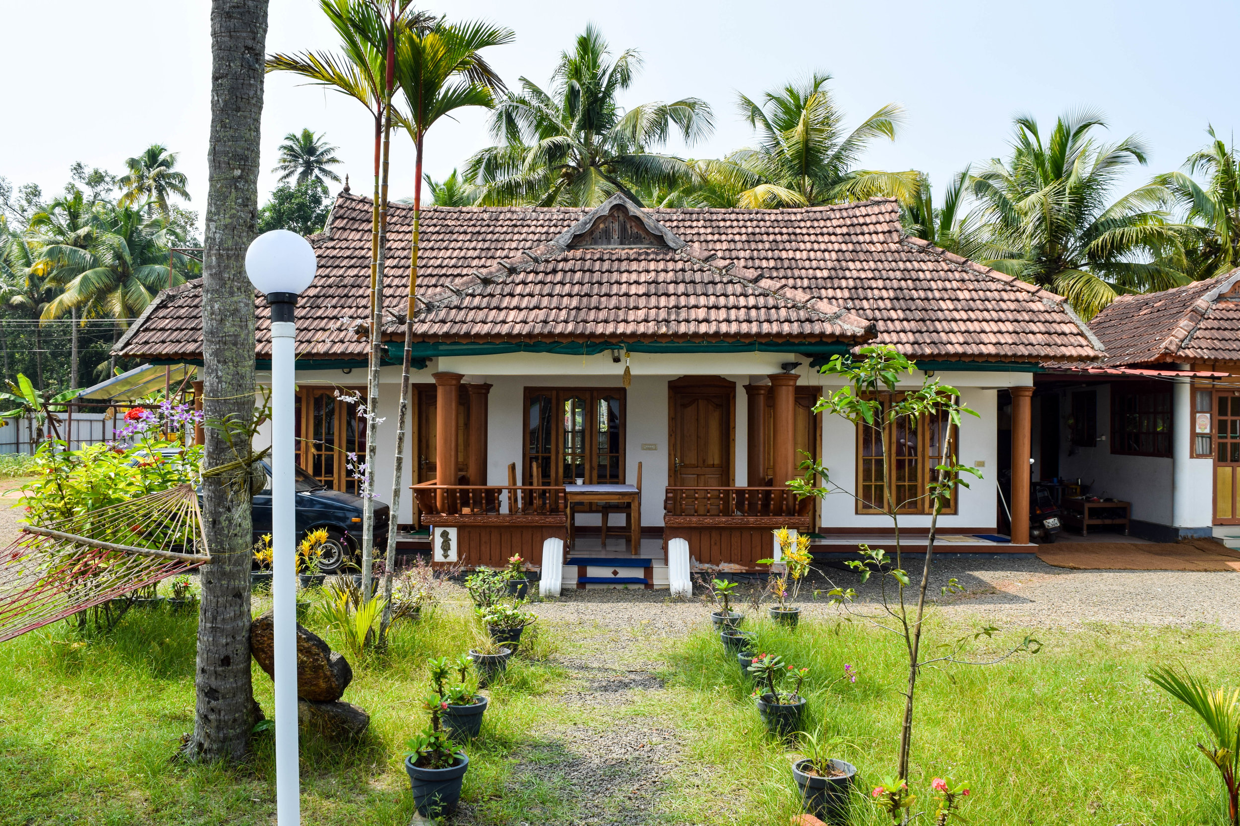 The main building of our guesthouse. So charming.