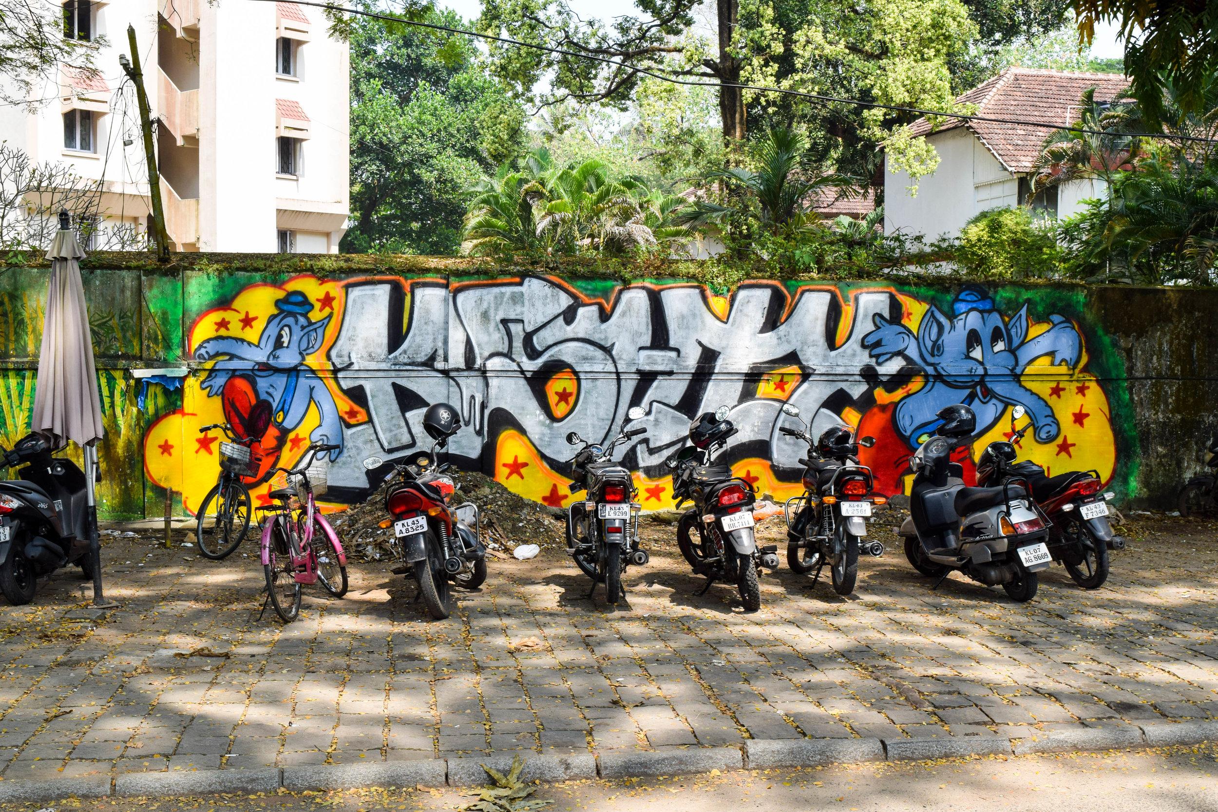 Motorbikes on motorbikes.