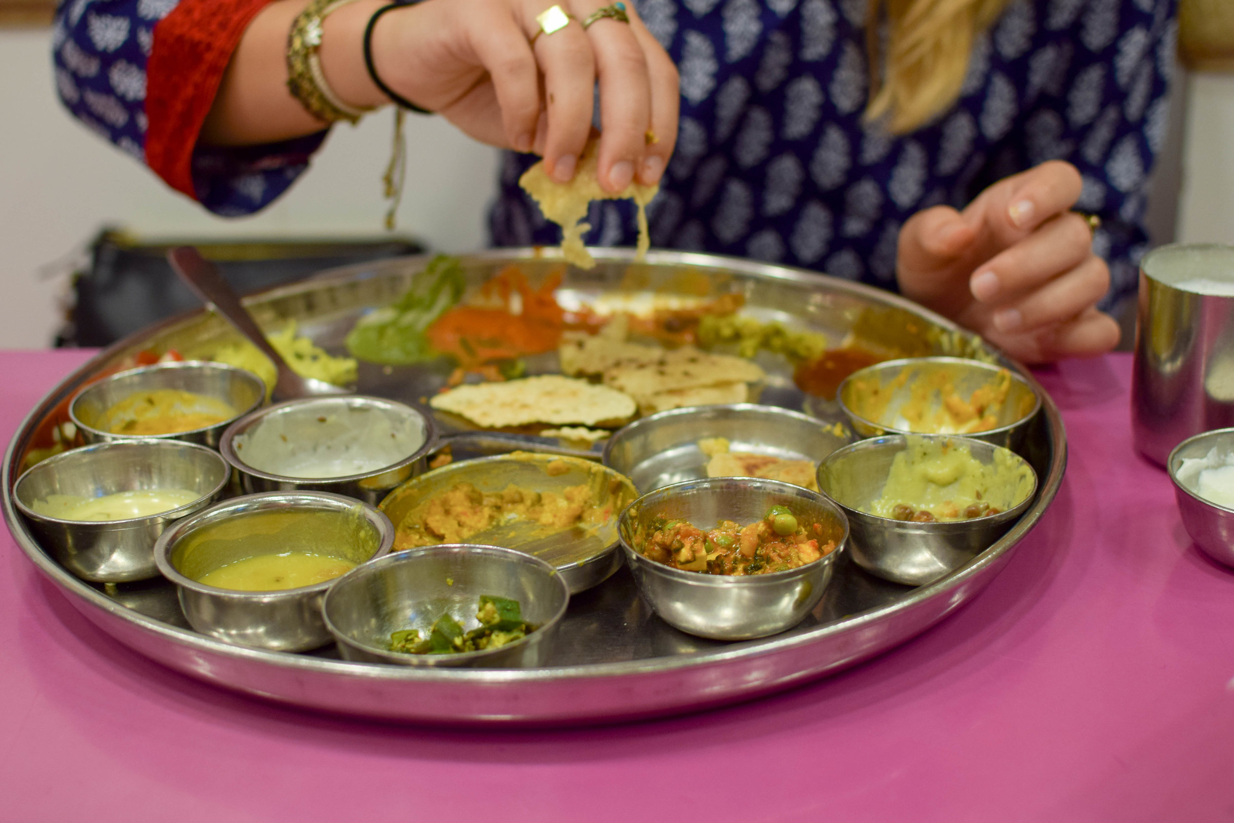Nothing like a good thali.