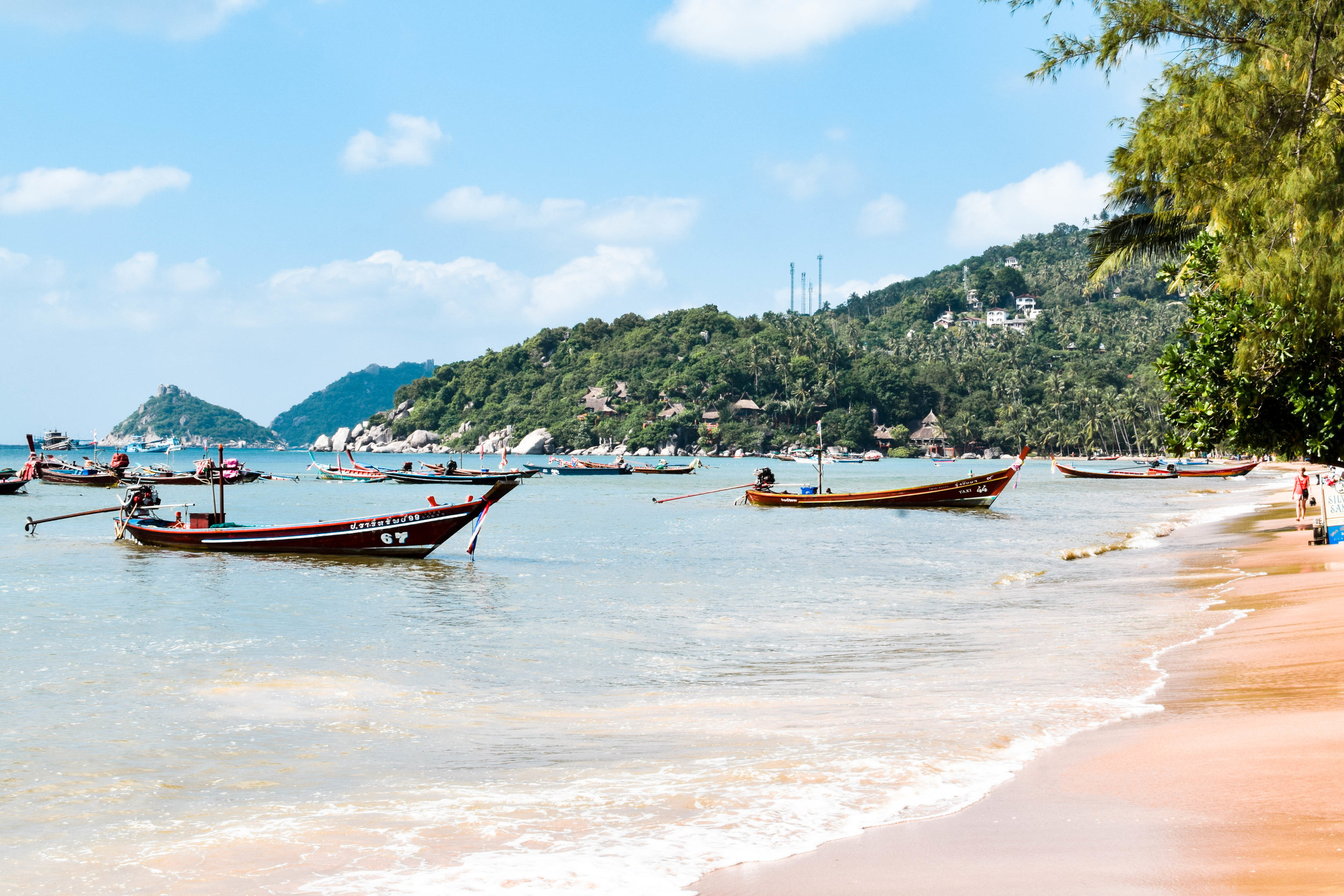 The beaches here are quintessentially Thai.