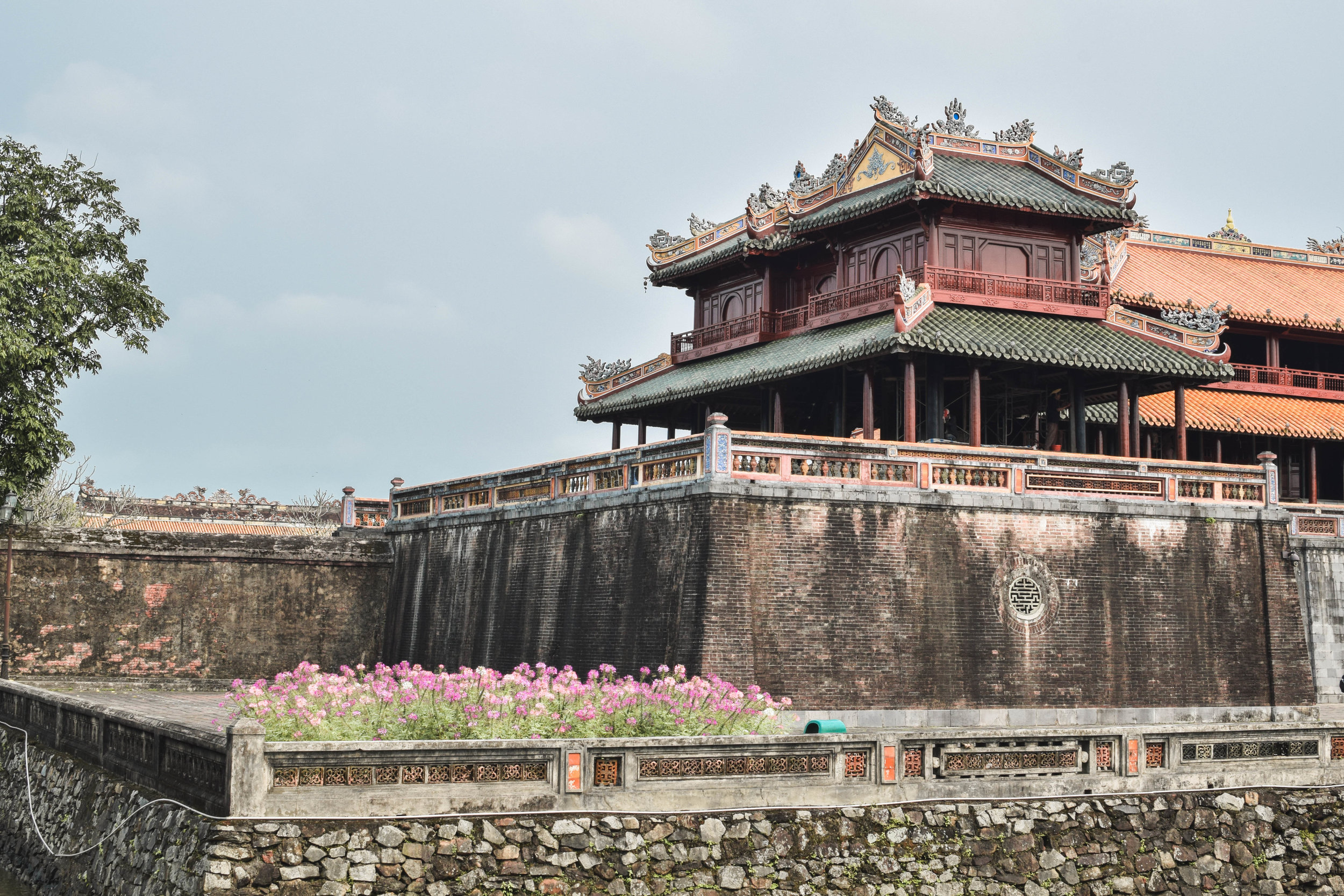 The entrance to the Ancient Citadel in Hue.