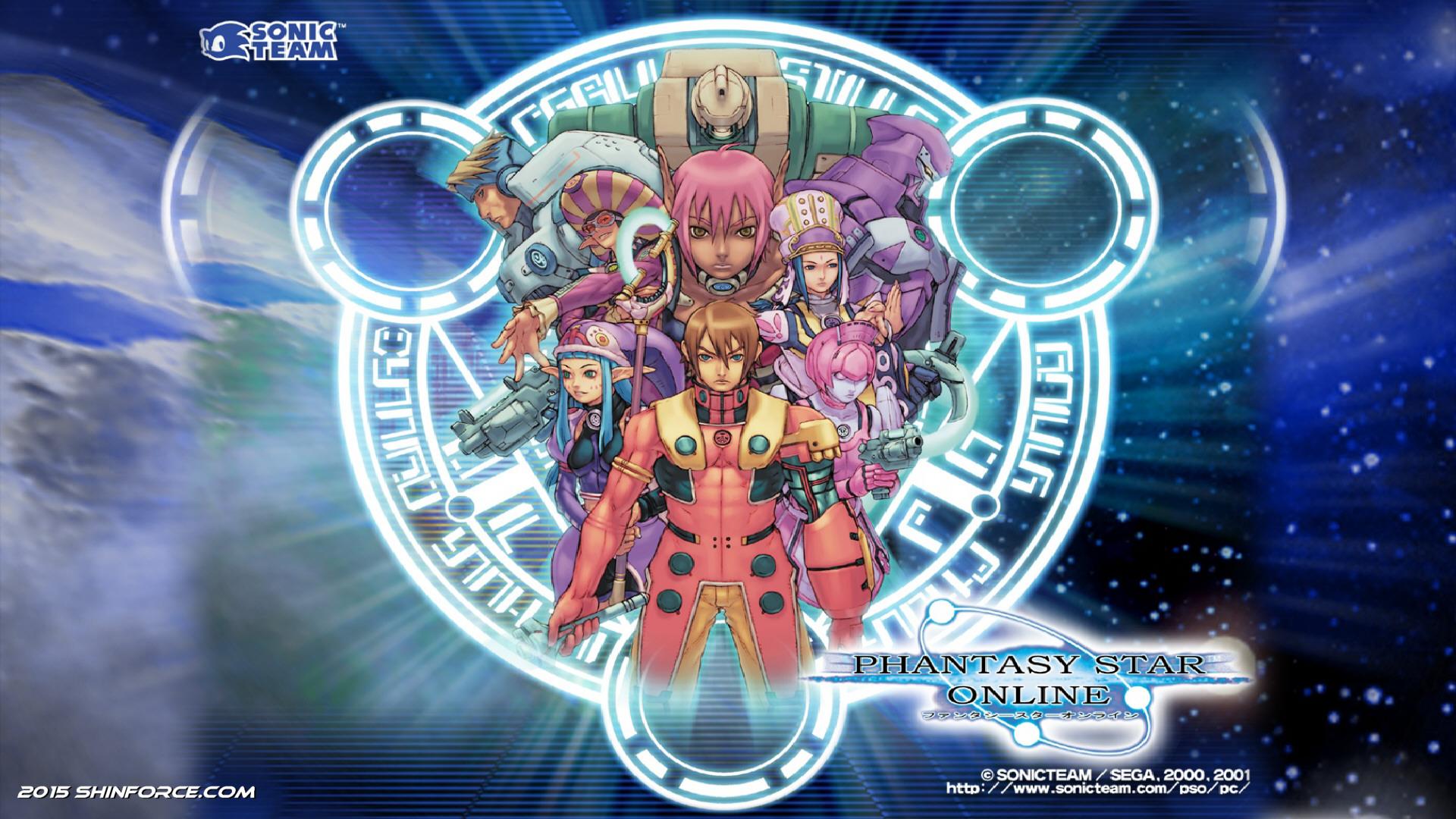 10. Phantasy Star Online -
