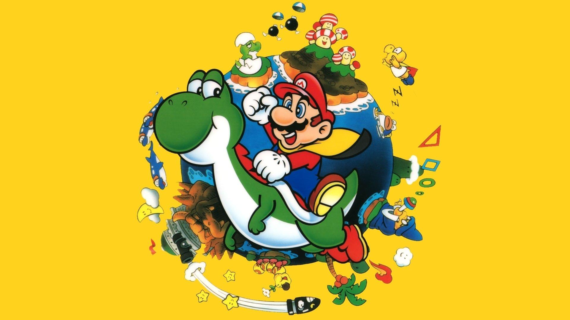 2. Super Mario World -