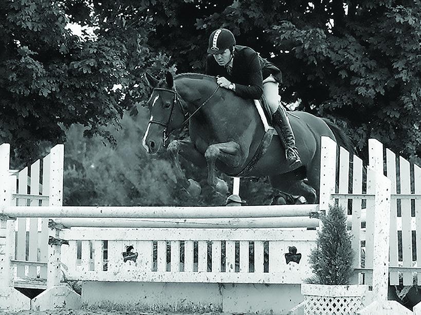 """John Banbury and """"Java"""" at Caledon Equestrian Park"""