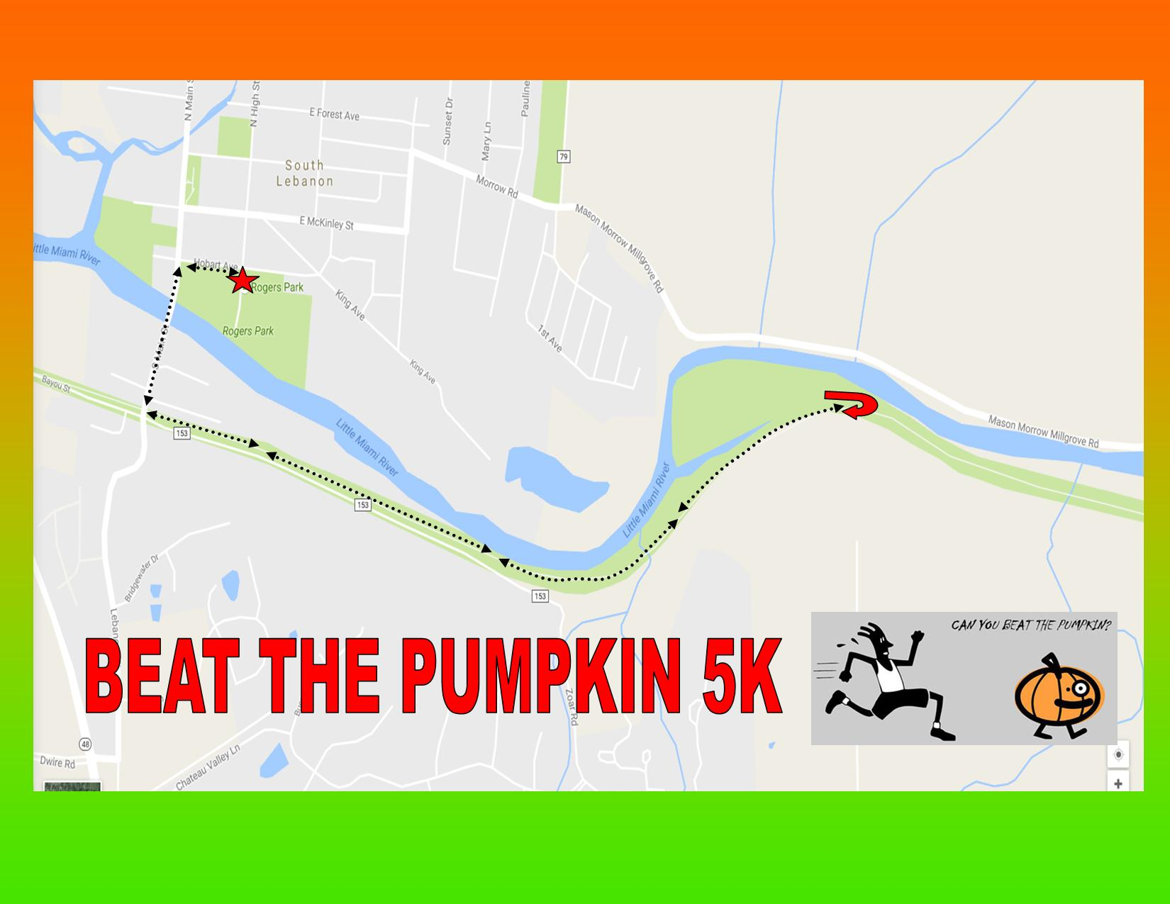 BEAT THE PUMPKIN 5K