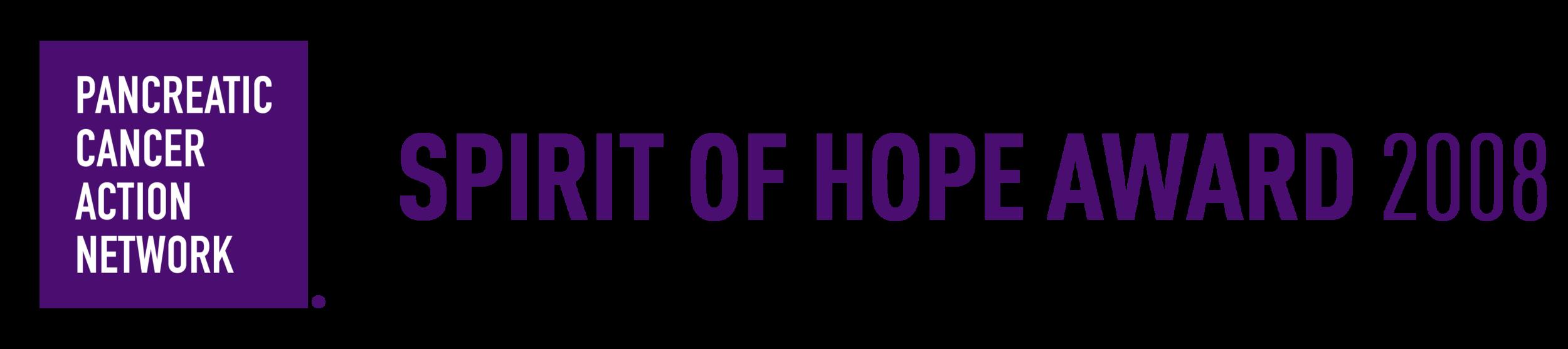 Pancreatic Cancer Survivor Laurie MacCaskill Receives 2008 Spirit of Hope Award