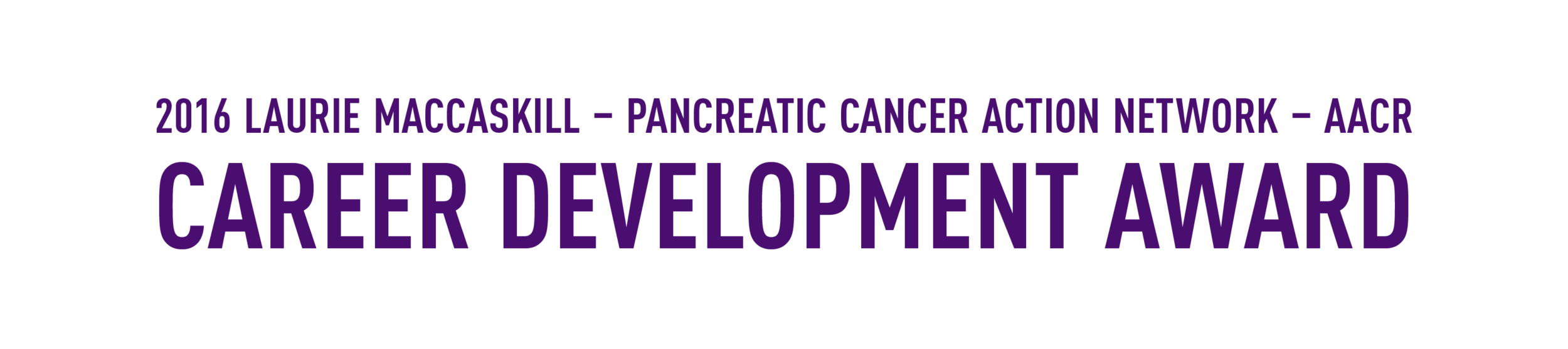 Laurie MacCaskill Receives PanCAN's First-Ever Career Development Award