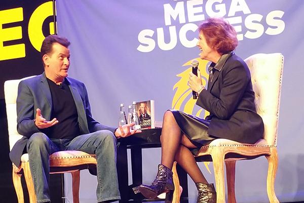 - Elizabeth & Charlie Sheen at LA Conference