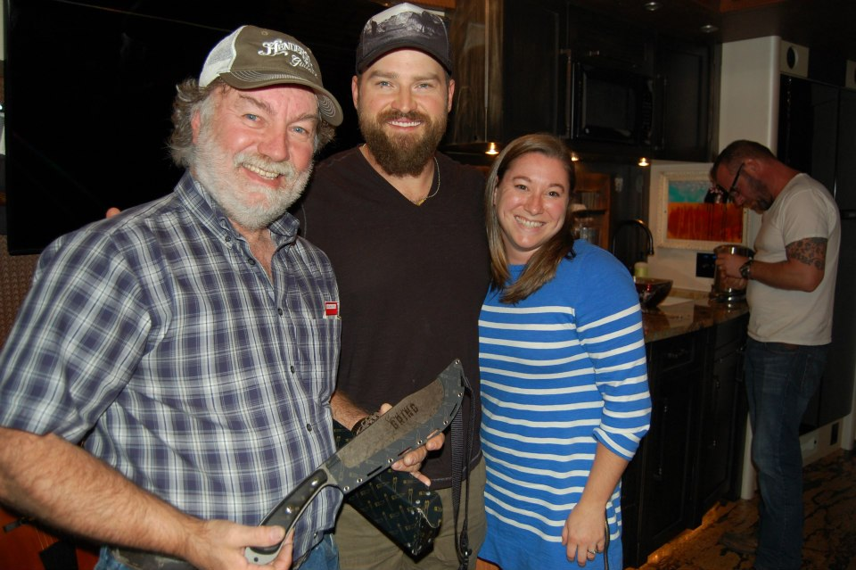 Visiting with Zac Brown