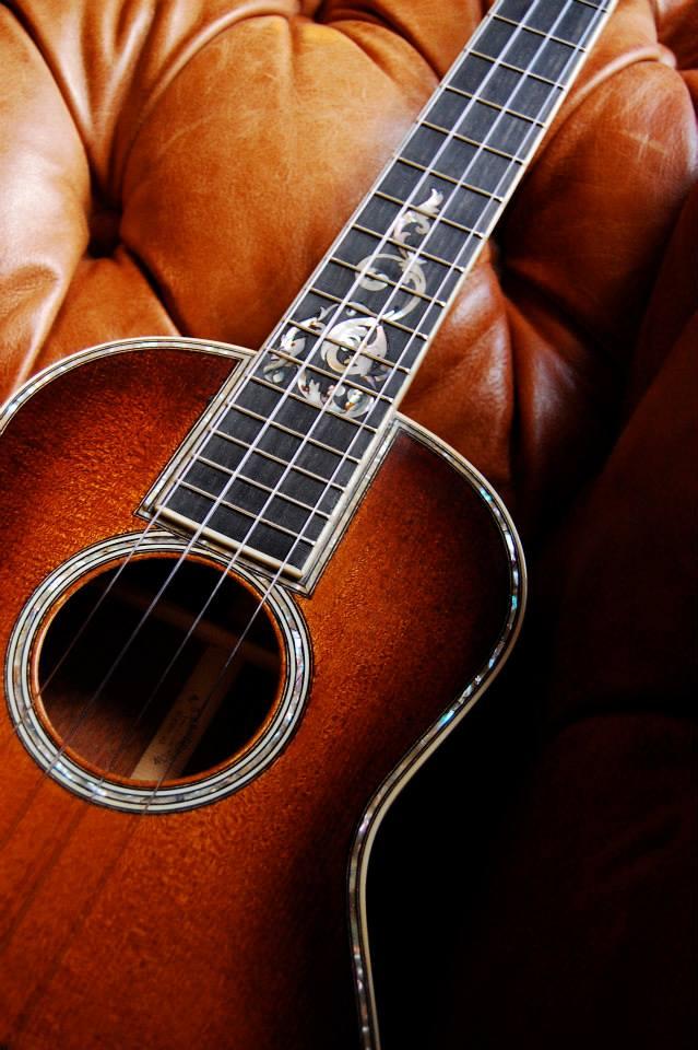 Design on a tenor ukulele