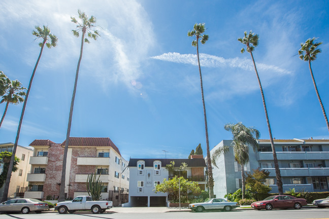 Real Estate aerial photography ~ 4th st. Santa Monica