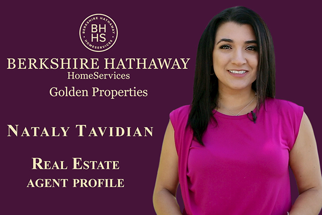 Berkshire Hathaway Agent Profile video ~ Nataly Tavidian