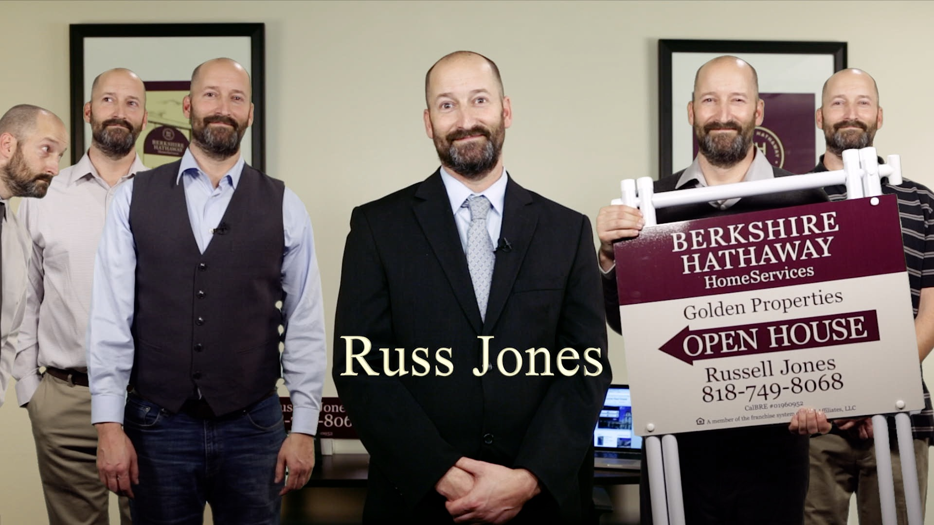 Berkshire Hathaway Agent profile video ~ Russ Jones